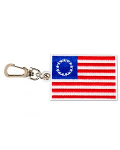 Betsy Ross Flag Backpack Clip