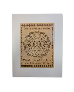 Chain of States Currency Matted Print