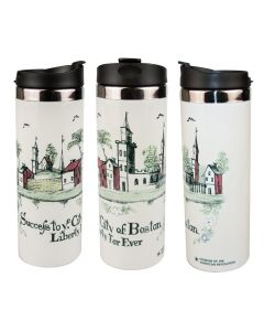 City of Boston Travel Mug