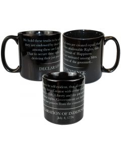 Large ''Declaration of Independence'' Mug