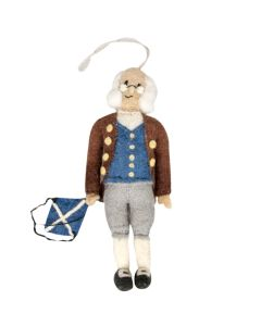 Ben Franklin Felt Ornament
