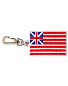 Grand Union Flag Backpack Clip