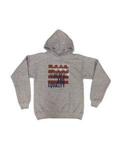 Liberty and Equality Stars and Stripes Hoodie Sweatshirt