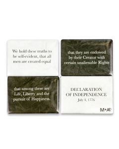 Declaration of Independence Magnet Set