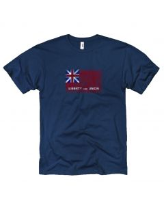 Adult Liberty and Union Flag Tee