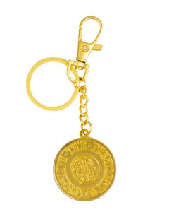 George Washington Gold Keychain