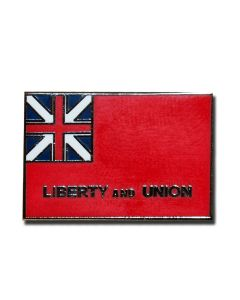 Liberty and Union Flag Pin