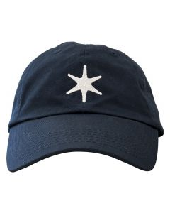 Navy George Washington Star Cap with Logo