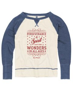 Ladies Perseverance and Spirit Sweatshirt